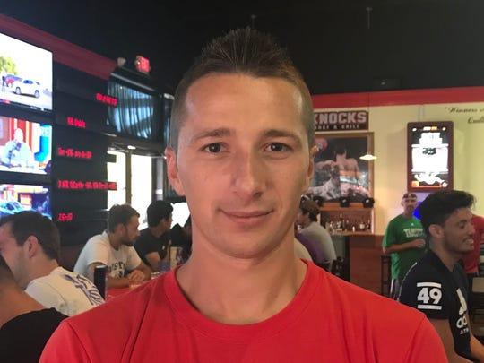 Corpus Christi FC midfielder Nenad Markovic