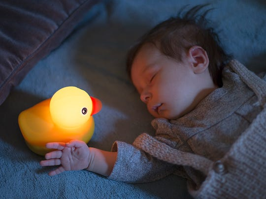 This adorable little rubber duck has no moving parts,