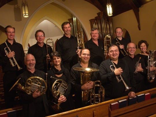 The annual Best Brass of Christmas concert at Sacred Heart Catholic Church in Farmington takes place Friday, Dec. 11.