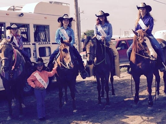 Eddy County Rodeo Pageant winners