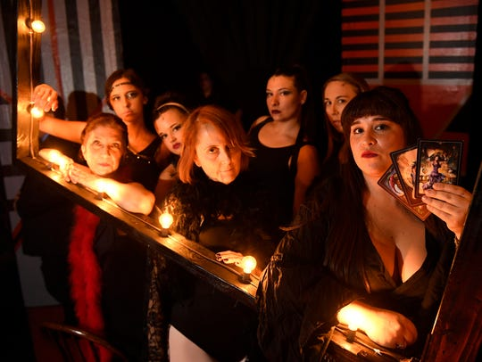 Visalia Players rehearse for their production of Cabaret