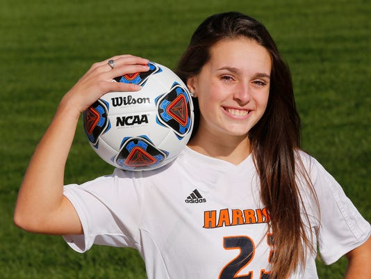 LAF J&C Girls Soccer Player of the Year Geswein
