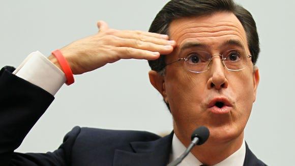 WASHINGTON - SEPTEMBER 24:  Comedian Stephen Colbert