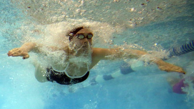Mason sophomore Ashley Volpenhein recently won her second straight state championship in the 50 freestyle and her first state championship in the 100 freestyle.