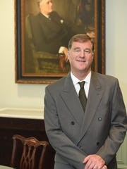 Paul Sparrow, Director of the FDR Library and Museum in Hyde Park on May 31.