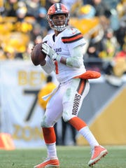 The Browns gave up on DeShone Kizer after one difficult