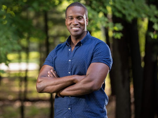 Businessman John James is running as a Republican for