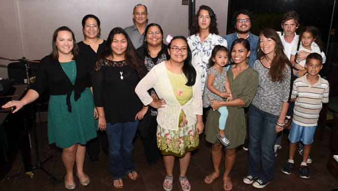 The FestPac Publications Subcommittee held a poetry reading at Papa's restaurant on Feb. 23.