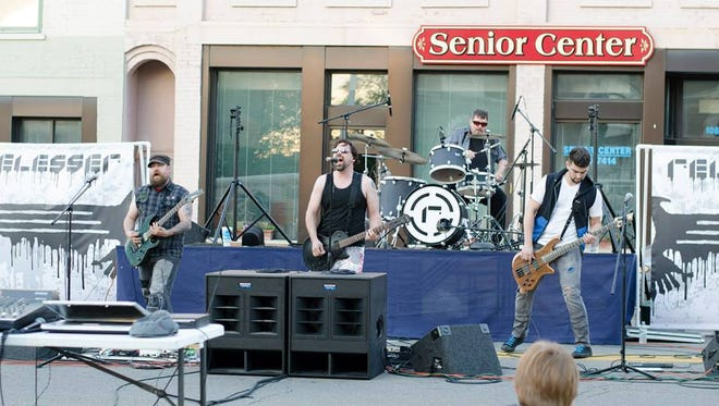 The band Relesser will perform again during Faith Fest's Concert at the Courthouse, happening May 29.