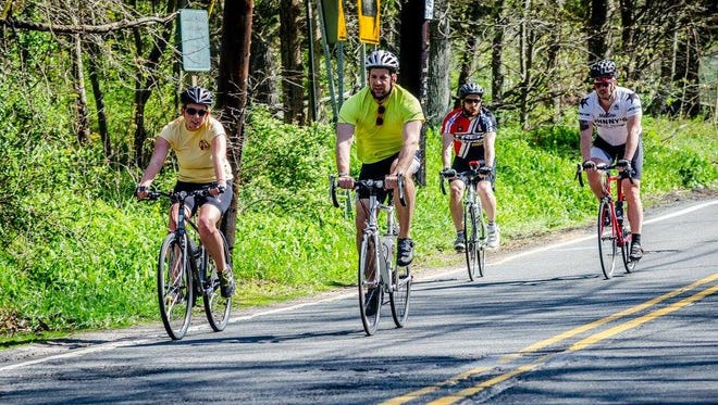 Bicycling along Central Jersey's rural roads is one of the simple ways you can become more physically fit. The annual county health rankings revealed Central Jersey residents should become more physically active.