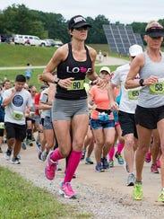 Mile 17: Amanda Maly, 29, of Royal Oak started running