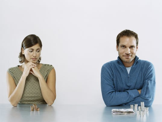 Thinkstock equal pay man and woman