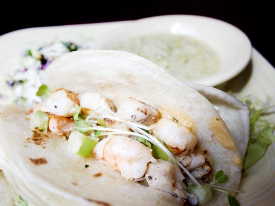 Fish tacos from Mondo's Saloon on Wednesday, September