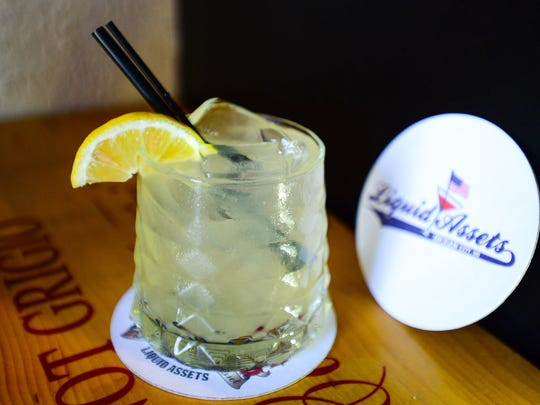 "Liquid Assets' ""Summer Lemonade"" House Punch, located in Ocean City. Aug. 25, 2016."