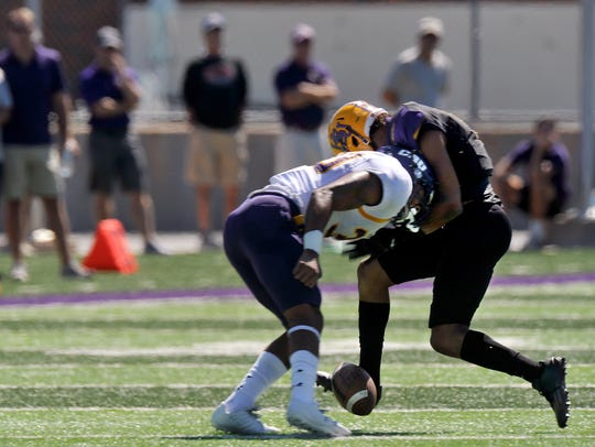 Hardin-Simmons University wide receiver Devonté Walker