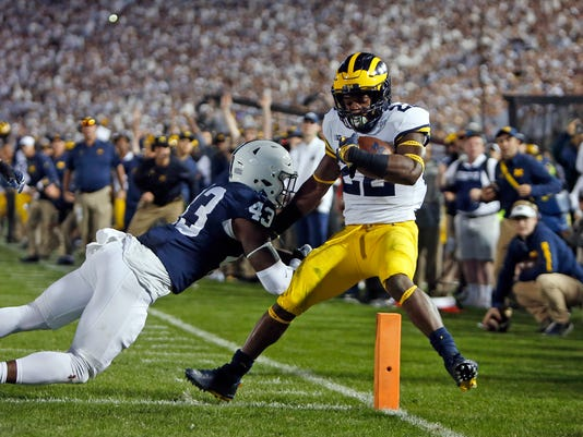 Michigan v Penn State