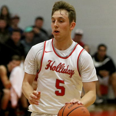 Holliday's Noah Parker had 15 points Tuesday as the