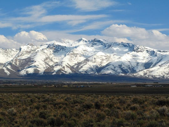The Ruby Mountains in Elko County have been referred