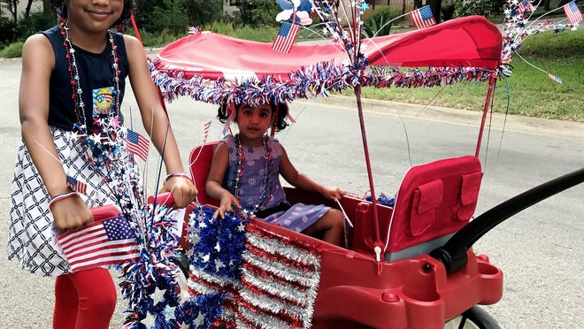 The Rollingwood Women's Club announced the cancellation of this year's Fourth of July festivities. But city residents are invited to participate in alternative celebrations this year, including decorating front porches and posing for photos at the city's lower park pavilion.