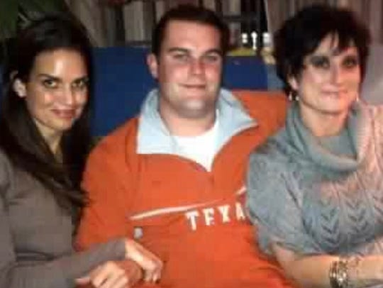 Kara Sands (left), Trey Sands (middle) and Cecilia