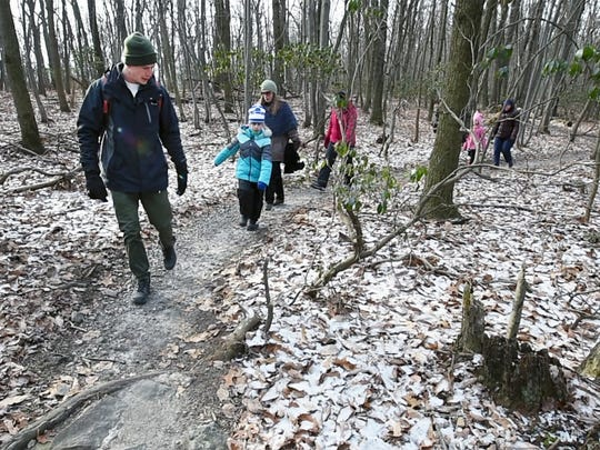 Audubon State Park is offering a mid-winter hike this weekend. Join in!