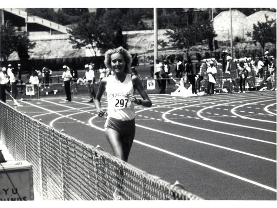 At the 1981 SEC Outdoor Championships, Kathy Bryant