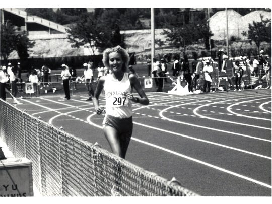 At the 1981 SEC Outdoor Championships, Kathy Bryant of Tennessee won the 3,000 meters in 9:32.79 and also took home the conference title in the 5,000 in 16:34.83.