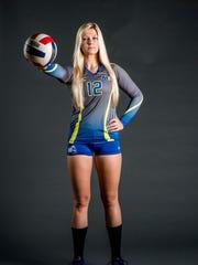 Livonia Stevenson alum Amanda Hawkins is poised and confident entering NAIA pool play for Madonna University.