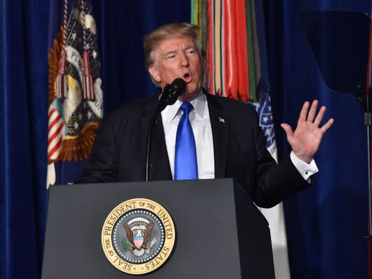 President Trump Afghanistan Strategy