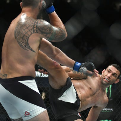 Column: UFC 203 delivered on every level