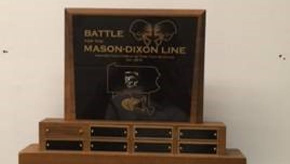 The trophy pictured above will be presented to the