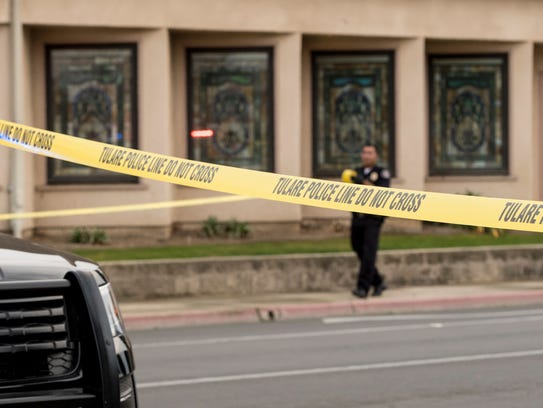 Tulare Police investigate an officer-involved shooting