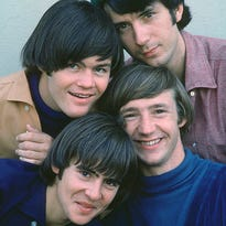 The Monkees, circa 1966.  Clockwise from top left: Micky Dolenz, Michael Nesmith, Peter Tork and Davy Jones.  Credit: RCA Records.