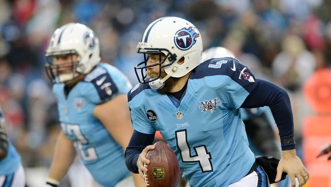 Ryan Fitzpatrick is heading into his 10th season and has 77 NFL starts spread over stints with the Rams, Bengals, Bills and Titans.