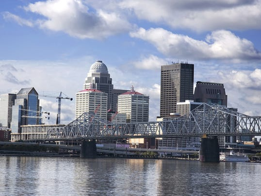 Louisville Skyline - Clark Bridge