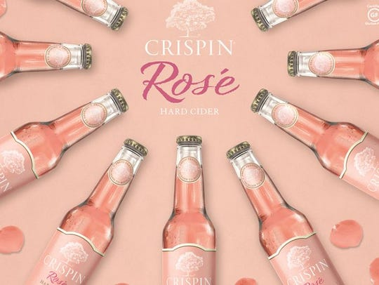 Crispin rose hard cider is the entry from MillerCoors