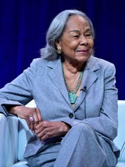 Rachel Robinson, Jackie Robinson's wife, is featured