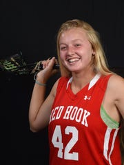 Ciara Burud, player of the year, Red Hook girls lacrosse