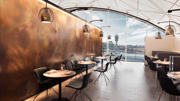 A sneak peek at American Express' new Centurion Lounge