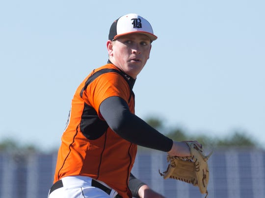 Barnegat Pitcher Jason Groome struck out 10 in four