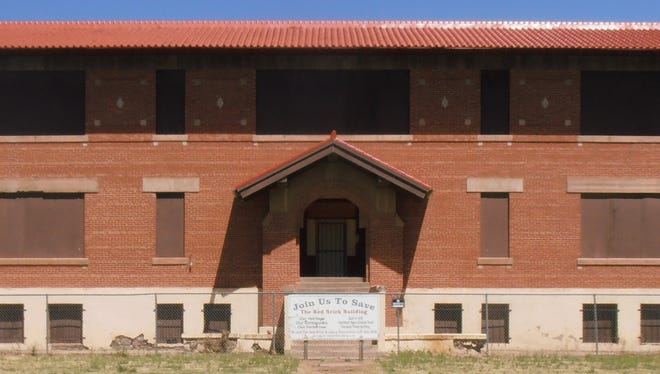 The Tularosa Red Brick School turned 100-years-old in 2017. The Building Restoration Foundation is hosting a fundraiser on May 5.
