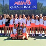 Northville outright 2018 MHSAA Division 1 girls tennis champion