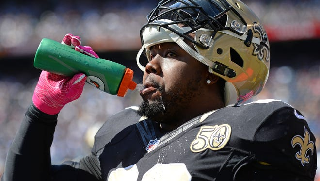 New Orleans Saints nose tackle Nick Fairley has undergone tests on his enlarged heart.
