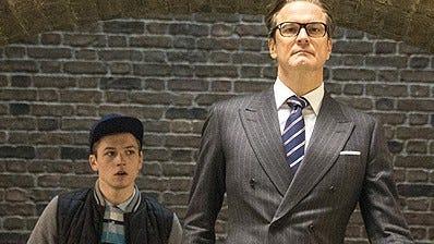 "Colin Firth stars in ""Kingsman: The Secret Service."""
