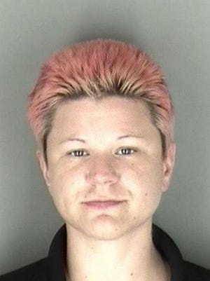 Amanda Mae Bushon, 30, of Rolla, Mo., was being held Sunday in the Shawnee County Jail.
