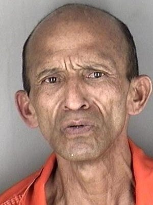 Marlon Ealmar Gordon-Vasquez, 55, was being held Wednesday in the Shawnee County Jail in connection with crimes that included aggravated arson.