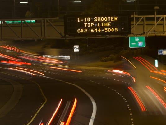 Phoenix freeway shootings