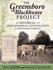 "Cover of ""The Greensboro Blockhouse Project"" book."