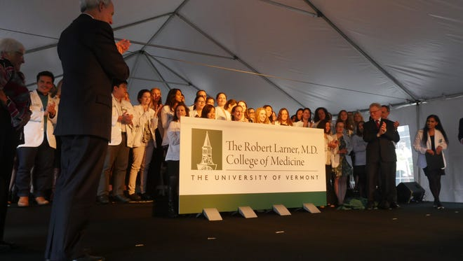 The UVM College of Medicine was renamed the Larner College of Medicine after a $66 million donation from Bob and Helen Larner, longtime donors to the medical school.