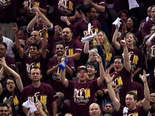 King James summons fans' support for Game 4